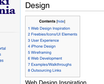 WikiDannia Design